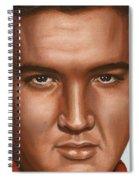 Elvis 24 1958 Spiral Notebook