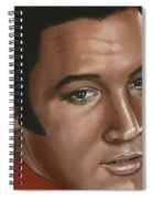 Elvis 24 1968 Spiral Notebook