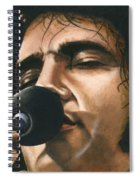 Elvis 24 1972 Spiral Notebook