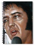 Elvis 24 1975 Spiral Notebook