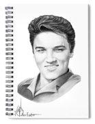 Elvis Aaron Presley Spiral Notebook