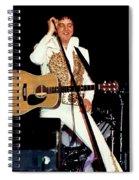 Elvis In Concert Spiral Notebook