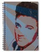 Elvis Pop Art Poster Spiral Notebook