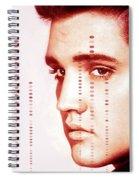 Elvis Preslely Spiral Notebook