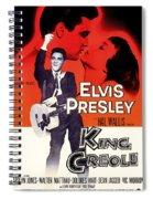 Elvis Presley In King Creole 1958 Spiral Notebook