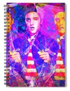 Elvis Presley Jail House Rock 20160520 Horizontal Spiral Notebook