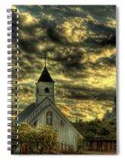 Elvis Presley Memorial Chapel II  Spiral Notebook