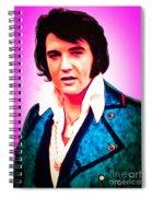 Elvis Presley The King 20160117 Spiral Notebook