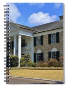 Elvis Presley's Graceland Spiral Notebook