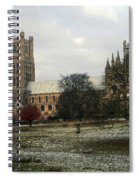Ely Cambridgeshire, Uk.  Ely Cathedral  Spiral Notebook