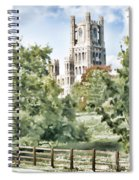 Ely Cathedral Spiral Notebook