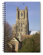 Ely Cathedral West Tower Spiral Notebook