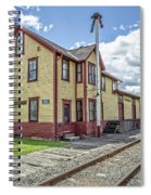 Ely Vermont Train Station Spiral Notebook