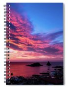 Ember Sunrise Spiral Notebook