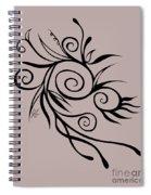 Embrace Flight Invert Spiral Notebook
