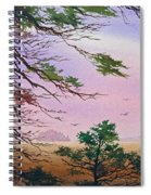 Embrace Of Dawn Spiral Notebook
