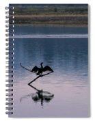 Embrace The Evening Spiral Notebook