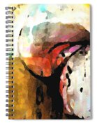 Embracing Secrets Panel One Of Two Spiral Notebook