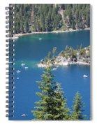 Emerald Bay Spiral Notebook