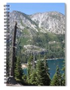 Emerald Bay With Mountain Spiral Notebook
