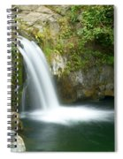 Emerald Falls Spiral Notebook