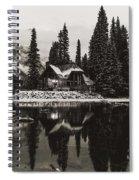 Emerald Lake, Canada Spiral Notebook