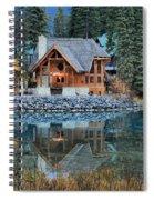 Emerald Lake Cilantro Spiral Notebook