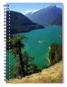 Emerald Lake Spiral Notebook