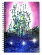 Emerald Palace Of Ancient Queen Of Space Aliens Spiral Notebook