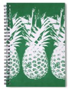 Emerald Pineapples- Art By Linda Woods Spiral Notebook