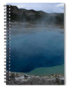 Emerald Pool - Yellowstone Np Spiral Notebook