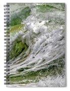 Emerald Storm Spiral Notebook