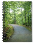 Emerald Trail Spiral Notebook