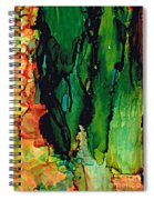 Emerald Waves  Spiral Notebook
