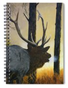 Emerging Monarch - Elk Spiral Notebook