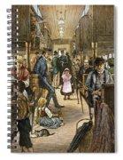 Emigrant Coach Car, 1886 Spiral Notebook