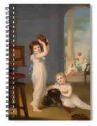 Emily And George Mason Spiral Notebook