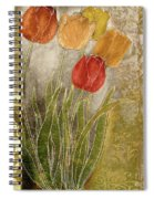 Emily Damask Tulips IIi Spiral Notebook