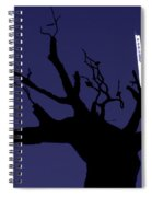 Emirates Tower Abstract Spiral Notebook