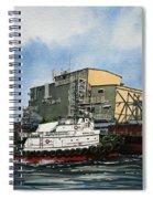 Emma Foss Barge Assist Spiral Notebook
