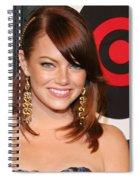 Emma Stone Spiral Notebook