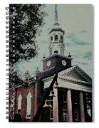 Emmanuel Bell Tower Spiral Notebook