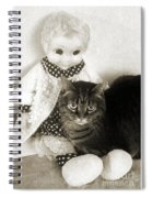 Emmy And Mrs Beasley Spiral Notebook
