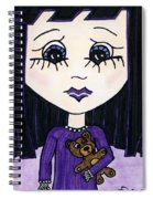 Emo Girl IIi Spiral Notebook