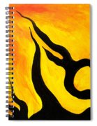 Emotions Of Waiting  Spiral Notebook