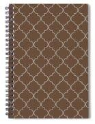 Emperador Quatrefoil Spiral Notebook