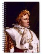 Emperor Napoleon Bonaparte  Spiral Notebook