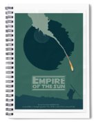Empire Of The Sun Spiral Notebook