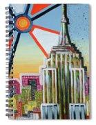 Empire Of The Sun Spiral Notebook
