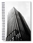 Empire State Building 1950s Bw Spiral Notebook